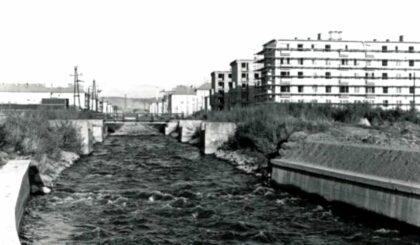 Vodný kanál na Triede SNP