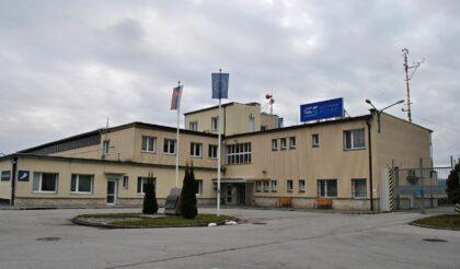Civilná časť letiska Sliač
