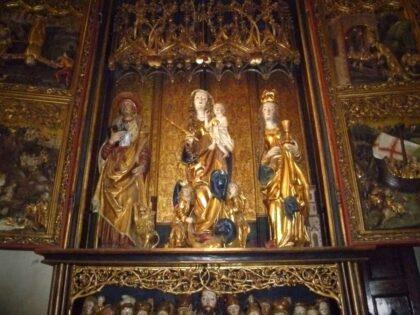 Oltár sv. Barbory