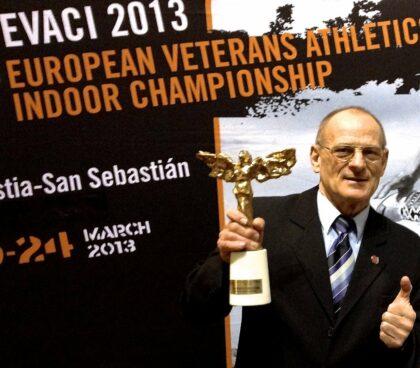 Najlepší atletický veterán Európy 2013
