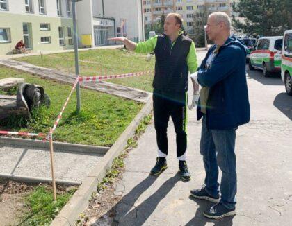 Zľava Marek Ondráš a Ján Nosko