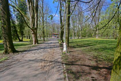 Súčasný stav chodníkov v parku