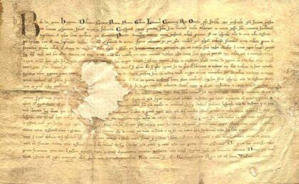 Zakladacia listina Banskej Bystrice