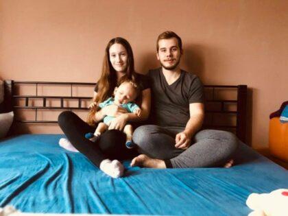 foto: Malý Alexander s rodičmi