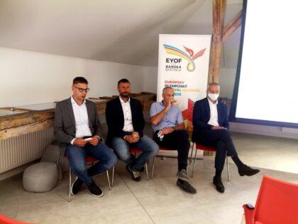 Prípravný výbor zľava Lukáš Donoval, Peter Hamaj, Jozef Liba a Ján Nosko