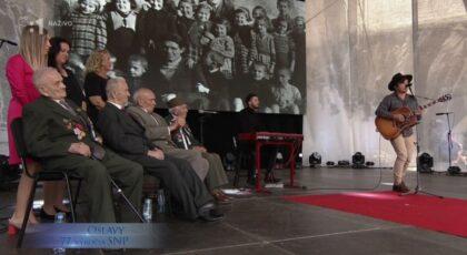 Naši veteráni, Martin Harich a na plátne Karol Pajer so zachránenými deťmi