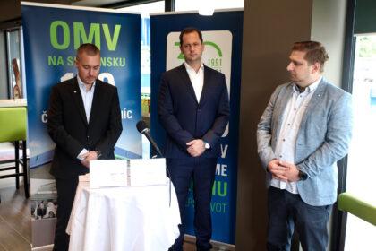 Zľava Michal Kubinec a Peter Vyšný