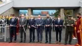 V Banskej Bystrici otvorili zrekonštruovaný atletický a futbalový štadión na Štiavničkách