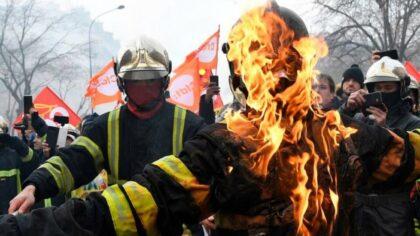 Francúzski hasiči