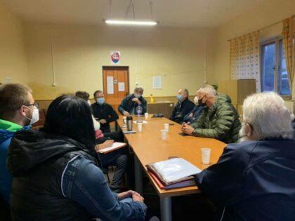 Primátor Ján Nosko na stretnutí s Rudlovčanmi